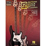 Hal Leonard 25 All-Time Rock Bass Classics Tab Songbook
