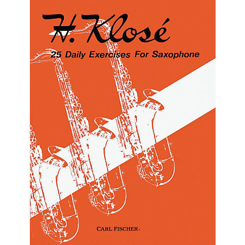 Carl Fischer 25 Daily Exercises For Saxophone Book-thumbnail