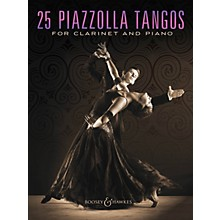 Boosey and Hawkes 25 Piazzolla Tangos for Clarinet and Piano Boosey & Hawkes Chamber Music Series Softcover