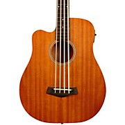 "Gold Tone 25"" Scale Left-Handed Fretless Acoustic-Electric MicroBass"