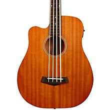 """Gold Tone 25"""" Scale Left-Handed Fretless Acoustic-Electric MicroBass"""