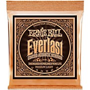Ernie Ball 2546 Everlast Phosphor Medium Light Acoustic Guitar Strings