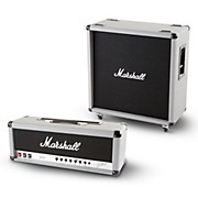 Marshall 2555X Silver Jubilee 100W Half Stack with 240W 2551BV Straight 4x12 Cabinet