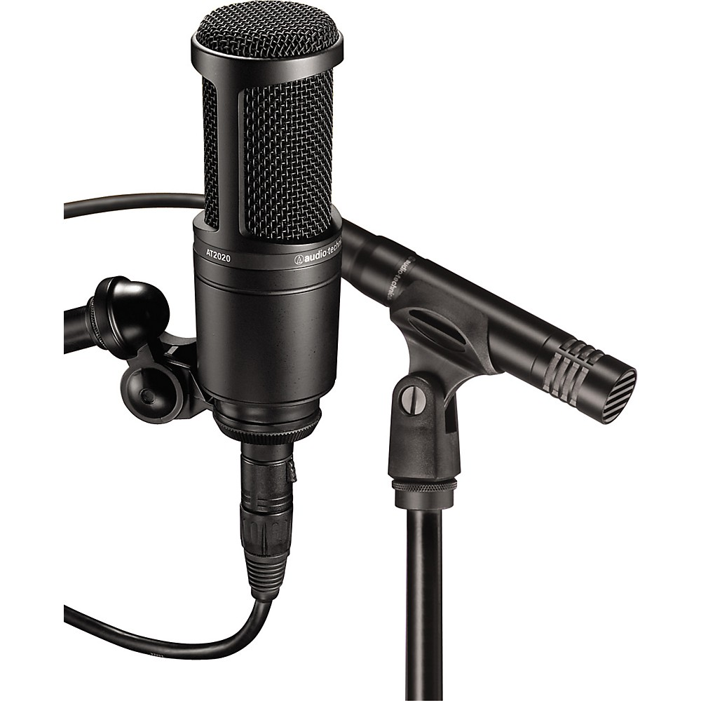 audio technica at2041sp at2020 and at2021 microphone pack ebay. Black Bedroom Furniture Sets. Home Design Ideas