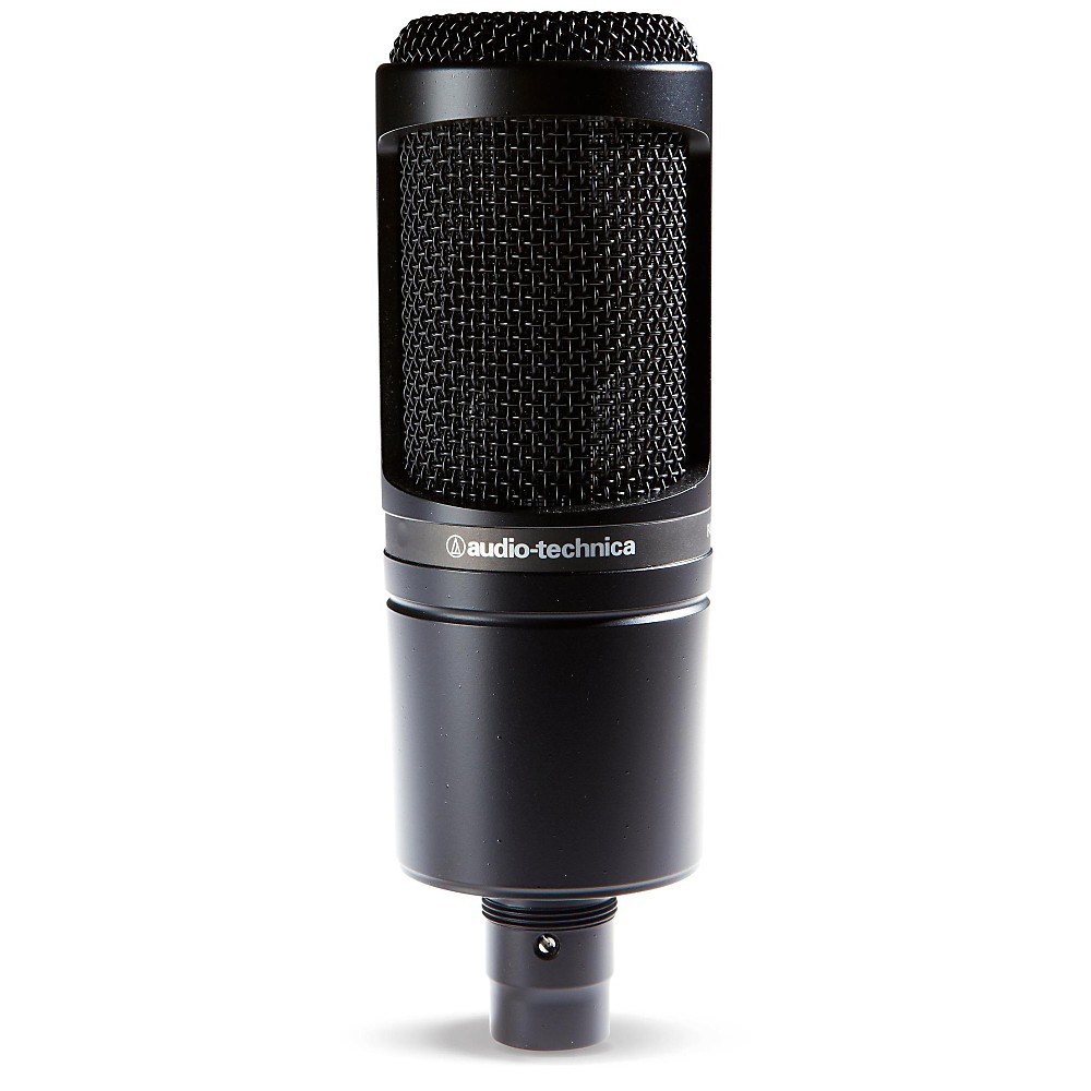 audio technica at2020 large diaphragm condenser microphone 3111003601 ebay. Black Bedroom Furniture Sets. Home Design Ideas
