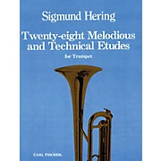 Carl Fischer 28 Melodious and Technical Etudes for Trumpet
