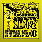 Ernie Ball 2837 Slinky Silhouette Short-Scale 6-String Bass Strings
