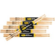 Sound Percussion Labs 2B Drum Sticks 6-Pack