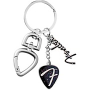 Fender 3-Piece F Logo Keychain with Clip - Chrome