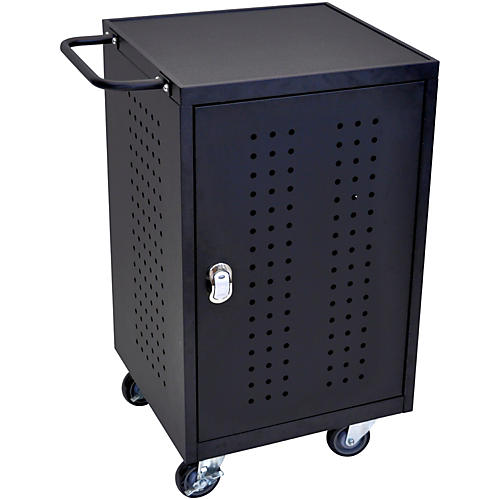 H. Wilson 30 Tablet Charging Cart with RFID-thumbnail