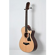 Taylor 300 Series 312ce 12-Fret Grand Concert Acoustic-Electric Guitar