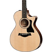 Taylor 300 Series 312ce Grand Concert Acoustic-Electric Guitar Regular