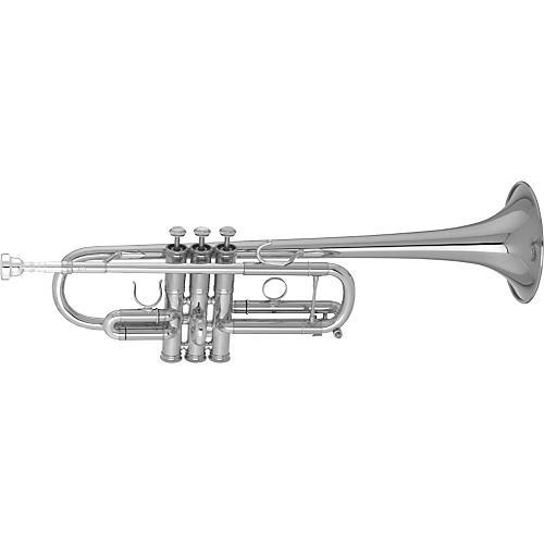 Getzen 3071 Custom Series C Trumpet Silver-thumbnail