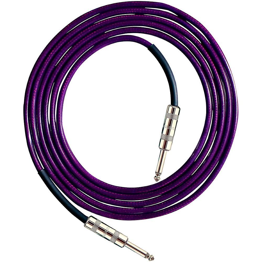 Live Wire Soundhose Instrument Cable Purple 10 Feet