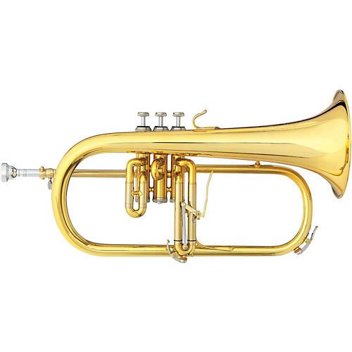 B&S 3146 Challenger II Brochon Series Bb Flugelhorn Gold Brass Bell