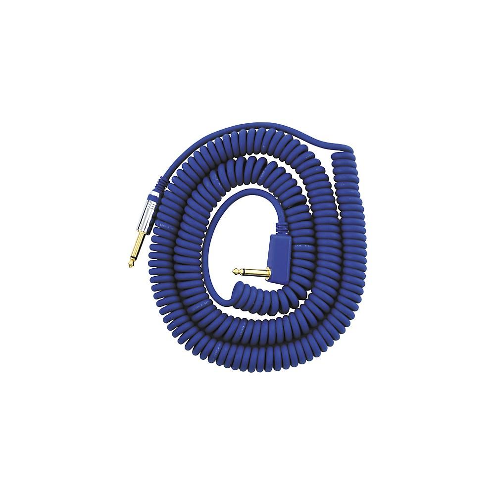 Vox Premium Vintage Coil Guitar Cable Assorted Colors Blue 9 Meters