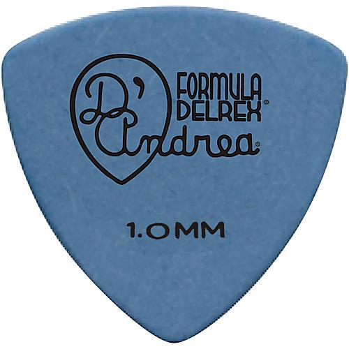 D'Andrea 346 Guitar Picks Rounded Triangle Delrex Delrin - One Dozen