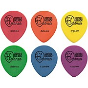 D'Andrea 347 Rounded Teardrop Delrex Delrin Guitar Picks - One Dozen