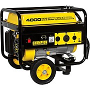 Champion Power Equipment 3500/4000 Watt Portable Gas-Powered Generator Generator