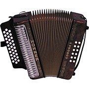 Hohner 3500 Corona II GCF Diatonic Accordion