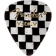 Fender 351 Sjhape Premium Picks, Checker Celluloid