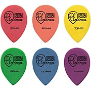 D'Andrea 358 Small Delrex Delrin Guitar Picks Teardrop - One Dozen