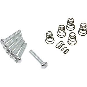 DiMarzio Single Coil Mounting Hardware Kit Chrome