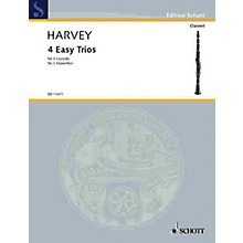 Schott 4 Easy Trios for 3 Clarinets Schott Series Composed by Paul Harvey