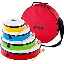 Nino 4-Hand Drum Set with Mallets and Bag