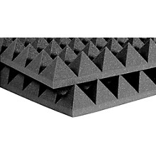 "Auralex 4"" Studiofoam Pyramid 2'x4'x4' Panels (6 pack) Charcoal"