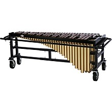 Tama Marching 4.5 Octave Marimba with Field Cart and Honduras Rosewood Bars