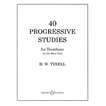 Boosey and Hawkes 40 Progressive Studies Boosey & Hawkes Chamber Music Series Composed by H.W. Tyrrell