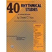 Alfred 40 Rhythmical Studies E-Flat Alto Saxophone