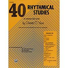 Alfred 40 Rhythmical Studies Horn in F