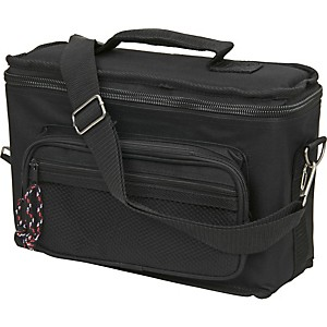 Musician's Gear 4-Space Microphone Bag Black