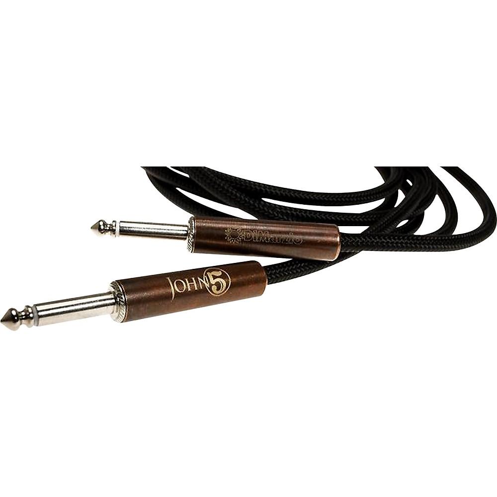 DiMarzio John 5 Signature Instrument Cable Black 18 Foot