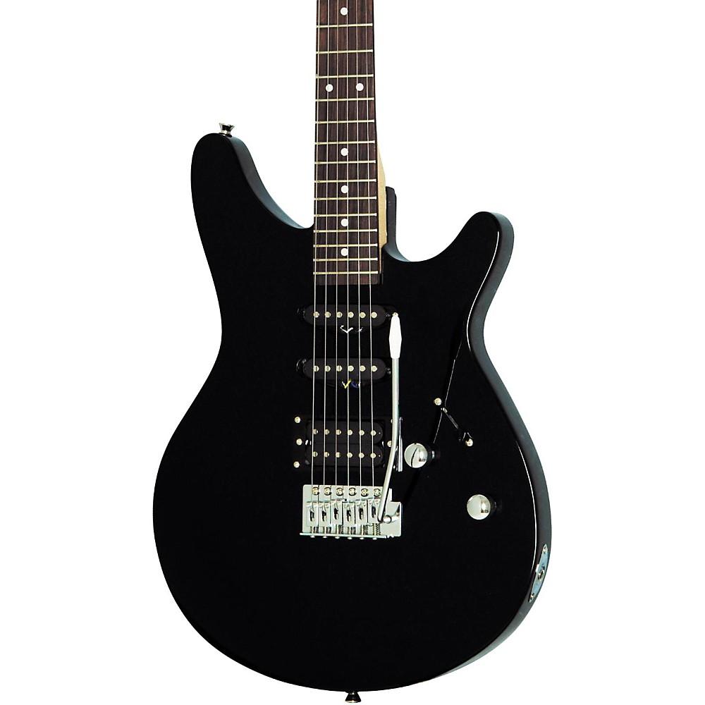 rogue rr100 rocketeer electric guitar black. Black Bedroom Furniture Sets. Home Design Ideas