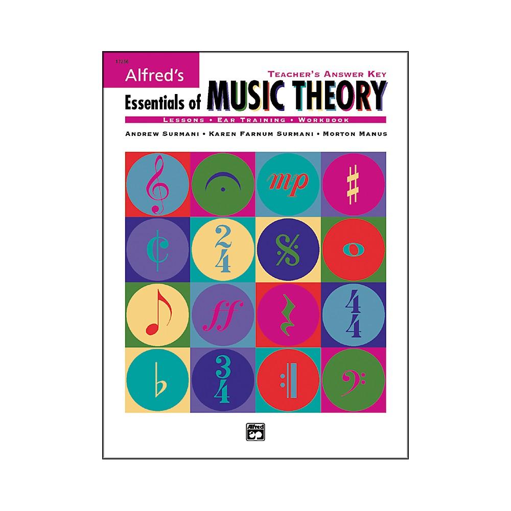 music theory answer key pdf
