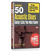 Emedia 50 Acoustic Blues Licks You Must Know DVD with Bonus DVD