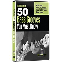 Emedia 50 Bass Grooves You Must Know DVD