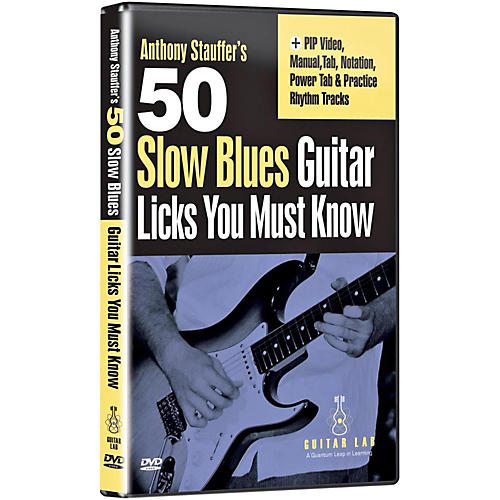 Emedia 50 Slow Blues Licks You Must Know DVD-thumbnail