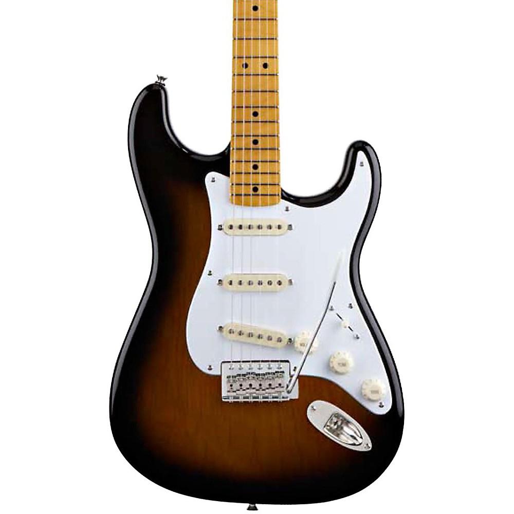 squier classic vibe stratocaster 39 50s electric guitar 2 color sunburst ebay. Black Bedroom Furniture Sets. Home Design Ideas