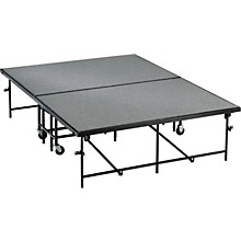 Midwest Folding Products 6' Deep X 8' Wide  Mobile Stage