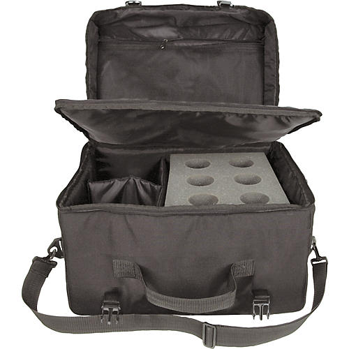 Musician's Gear 6-Space Microphone Bag