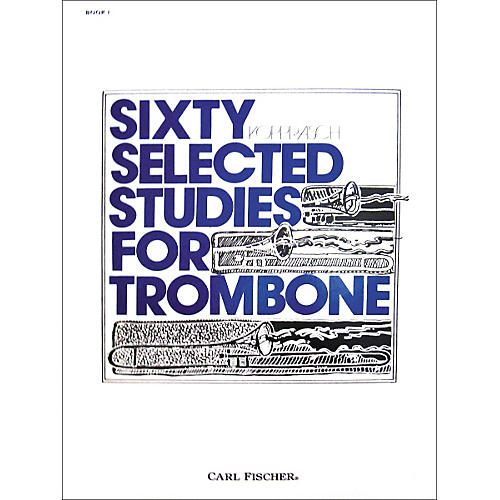 Carl Fischer 60 Selected Studies for Trombone-thumbnail