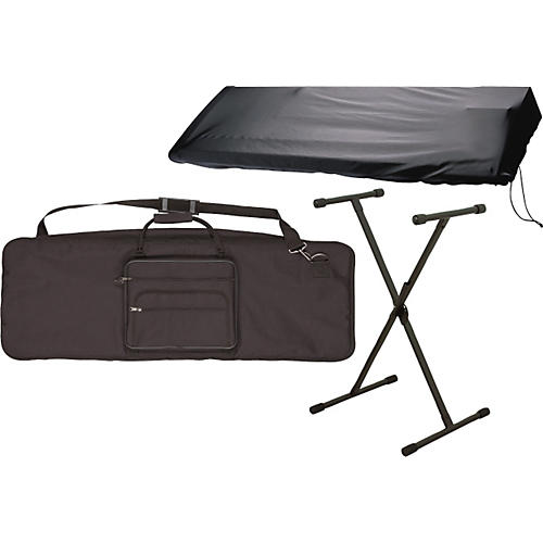 Musician's Gear 61 Key Stand and Cover Package-thumbnail