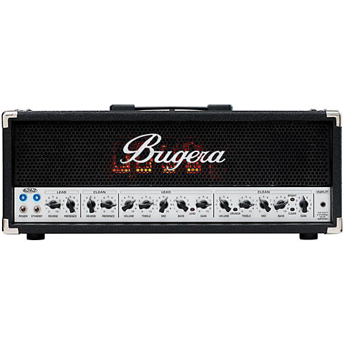 Bugera 6262 120W 2-Channel Tube Guitar Amp Head-thumbnail