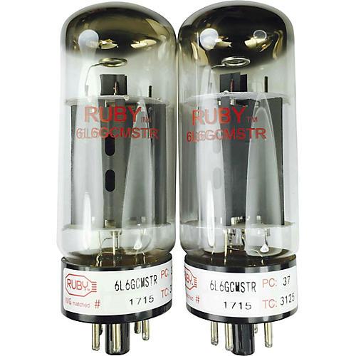 Ruby 6L6GCMSTR Matched Amp Tubes