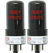 Ruby 6V6 Matched Amp Tubes