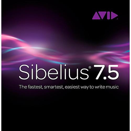 Sibelius 7.5 Legacy Upgrade from Sibelius 6 and earlier + PhotoScore/AudioScore Bundle-thumbnail
